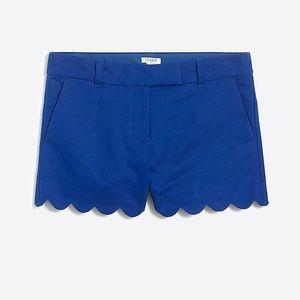 NWT j crew factory scallop shorts size ten